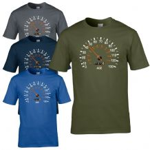 Speedometer 1973 Birthday T-Shirt - Funny Feels Age Year Present Mens Gift